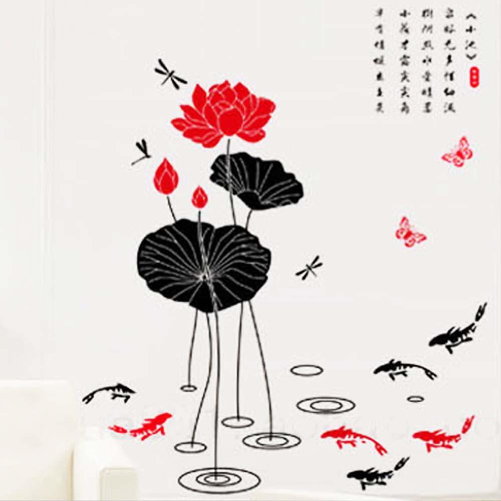 A-140花草系列-愛蓮說 大尺寸高級創意壁貼 / 牆貼