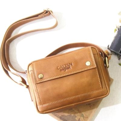 CALTAN - 女用真牛皮都會風兩用包 斜背包 肩背包 外用包 大包 -5202ht