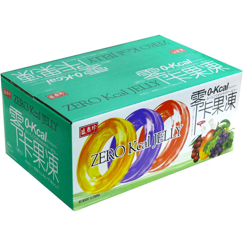 盛香珍 零卡小果凍-綜合風味量販箱(6kg)