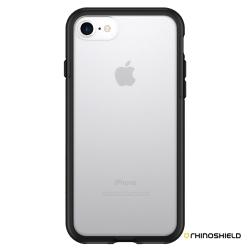 犀牛盾PLAYPROOF iPhone 8 / 7(4.7吋) 防摔背蓋手機殼-透明款