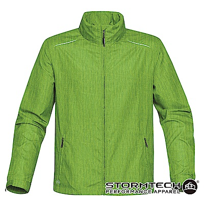 【加拿大STORMTECH】KXH-1限定版超輕量防潑透氣連帽外套-男-草綠