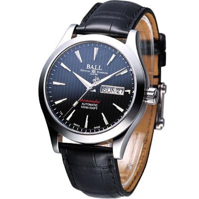 BALL Engineer 天文台認證機械腕錶-黑/40mm
