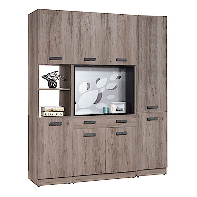 品家居 歐木可5.3尺雙面屏風鞋櫃-160x38x197cm免組