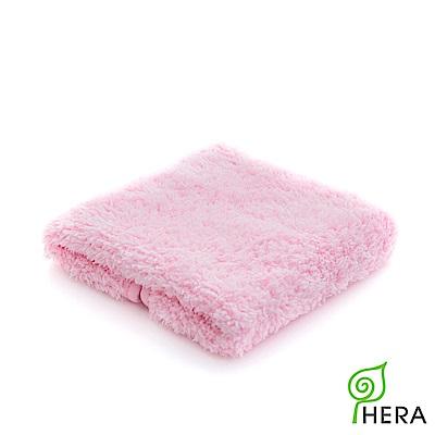 HERA  3M專利瞬吸快乾抗菌超柔纖-小方巾-櫻花粉