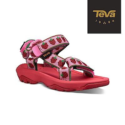 TEVA 幼童 Hurricane XLT 2 運動涼鞋 草莓粉紅