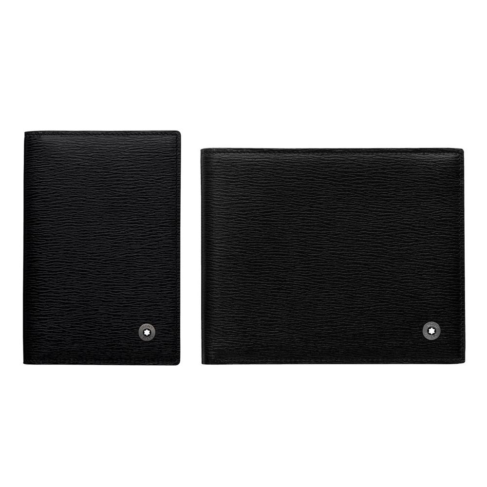 萬寶龍 4810系列   8卡皮夾+名片夾 二件組