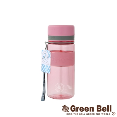 GREEN BELL綠貝直身防滑水壺600ml(粉紅色)