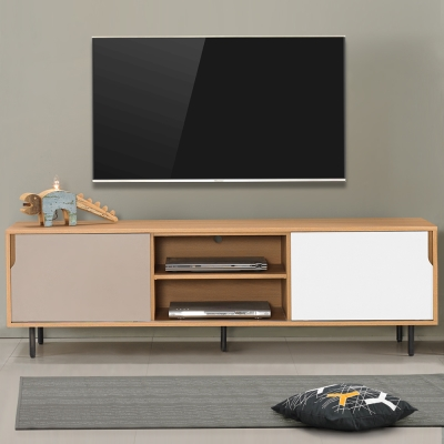 Homelike 米亞6尺電視櫃-181x45x58cm