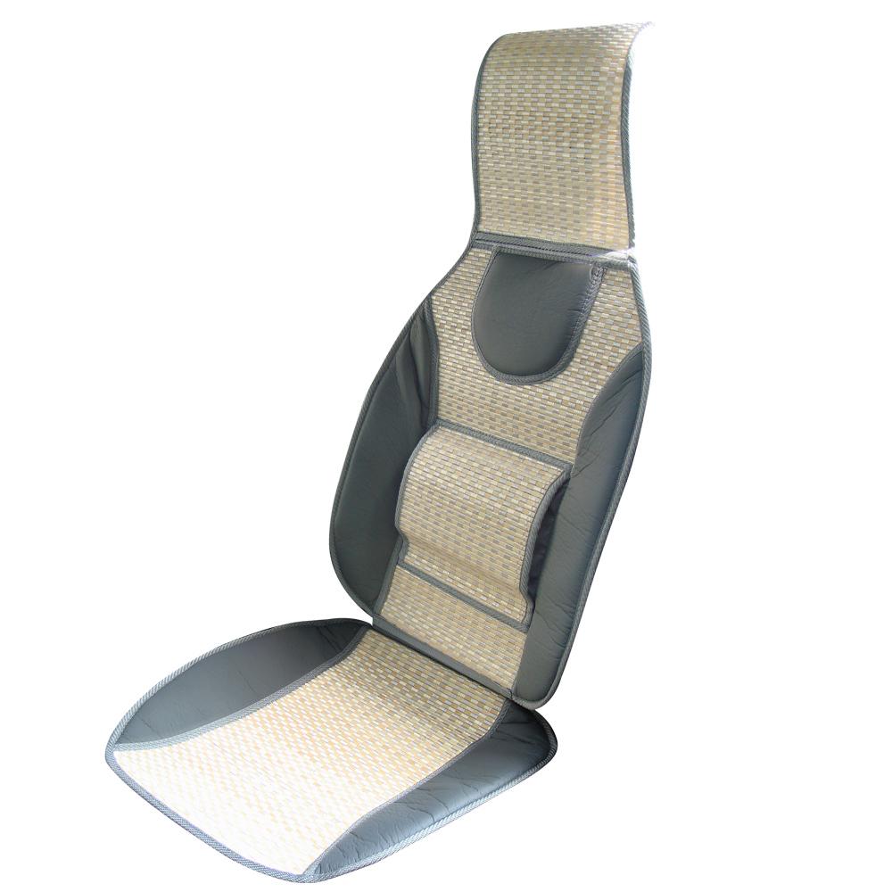 亞克高級竹編護腰椅墊