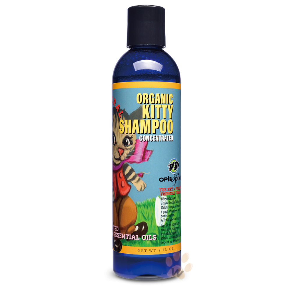 Opie&Dixie阿比與黛西 OD有機貓專用洗毛精8oz