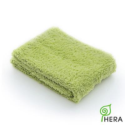 HERA 3M專利瞬吸快乾抗菌超柔纖-毛巾-香草綠