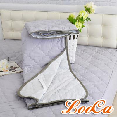 LooCa 天然防蹣防蚊竹炭保潔墊 平面式 加大6尺