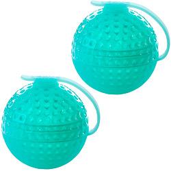 LEKUE 圓點冰球製冰盒2入(湖綠)