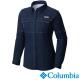 【Columbia哥倫比亞】女-快排防曬40長袖襯衫-深藍色 UFL10330NY product thumbnail 2