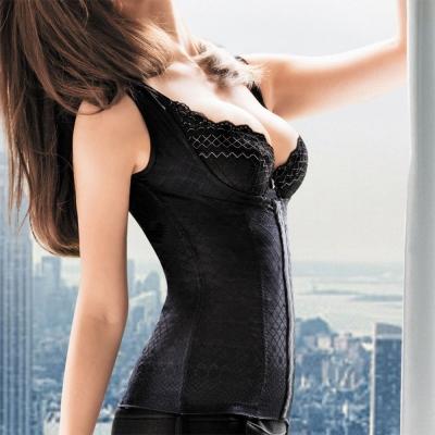 華歌爾-極塑衣美背減壓64-82舒壓衣(眼線黑)