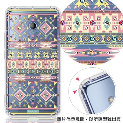 KnowStar HTC 全系列 彩鑽防摔手機殼-璇