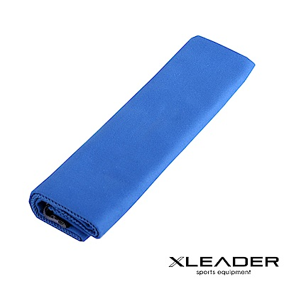 Leader X 超細纖維 吸水速乾運動毛巾  寶藍 - 快