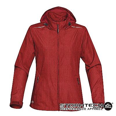 【加拿大STORMTECH】KXH-1W限定版超輕量防潑透氣連帽外套-女-暗紅