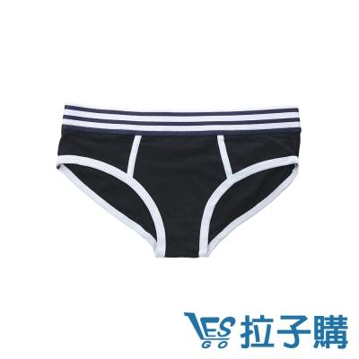 內褲 lescool運動款條紋褲頭三角內褲 LESGO內褲