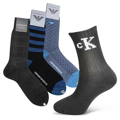 國際時尚名品紳士襪,任選三雙再打64折