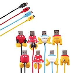 Disney迪士尼 Micro USB 屁屁傳輸線