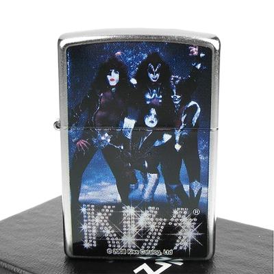 【ZIPPO】美系~Kiss 重金屬搖滾樂團主題打火機