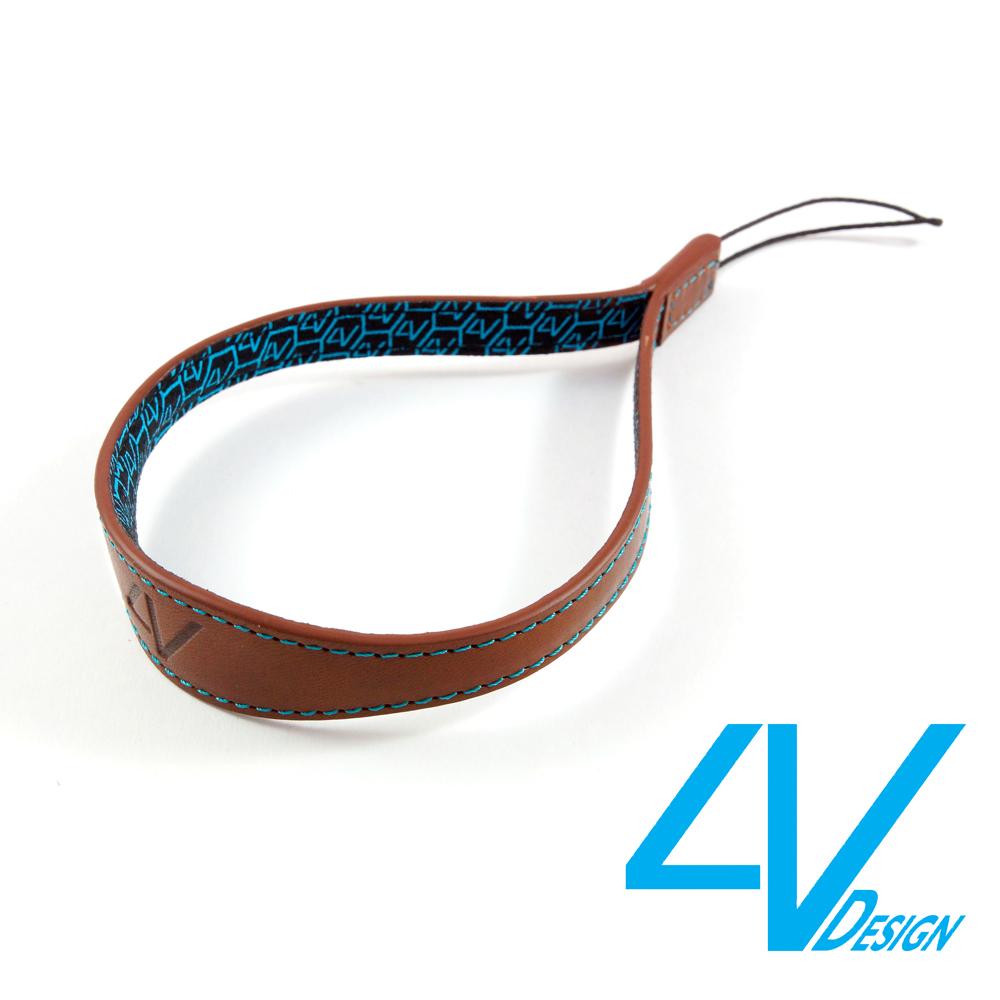 4V WATCH系列相機手環 MS01S-VV2330-棕/青色(M)