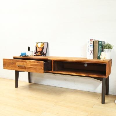 H&D 範倫汀娜北歐系列實木5.3尺電視櫃/長櫃_160*40*56cm