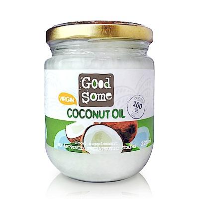 GoodSome 第一道冷壓椰子油(225ml)
