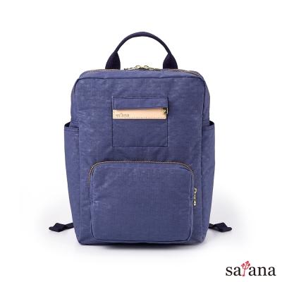 satana -Soldier上課趣後背包-夜影藍