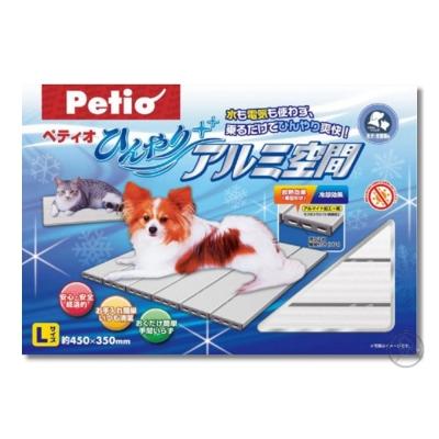Petio 超涼散熱鋁墊 犬貓適用 L(45cm x 35cm)