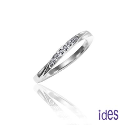 ides愛蒂思 簡單愛。精選設計款鑽石線戒/尾戒