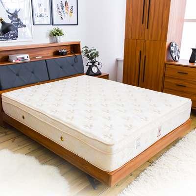 時尚屋 帝瓦諾高級進口乳膠透氣3.5尺加大單人床墊