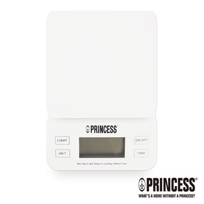 PRINCESS荷蘭公主三段式觸控電子料理秤(白)TPRES31W
