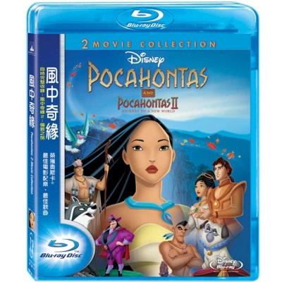 風中奇緣 (1+2) Pocahontas I+II 藍光 BD