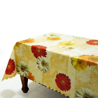 布安於室-花朵防水桌巾