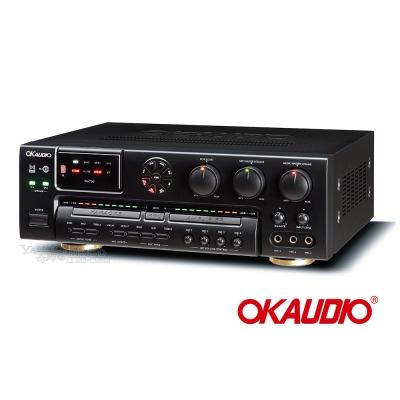 OKAUDIO SA-500數位迴音卡拉OK綜合擴大機