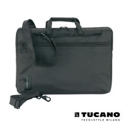 TUCANO WORK_OUT MB Pro 15吋時尚亮彩薄型側背包-黑