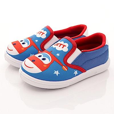 SUPER WINGS 保羅休閒鞋款 EI3608藍(中小童段)