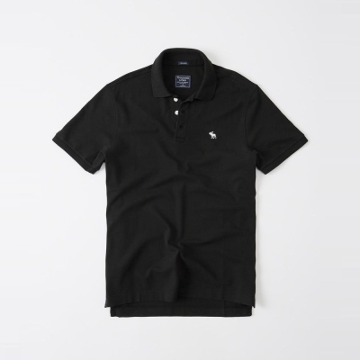 AF a&f Abercrombie & Fitch POLO 黑色 355