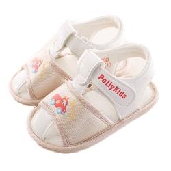 紅車魔鬼貼寶寶鞋 米色 sk0160 魔法Baby