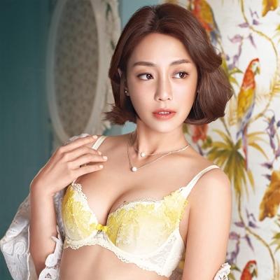 華歌爾-伊珊露絲-浪漫歐洲-B-C-罩杯內衣-曙光黃
