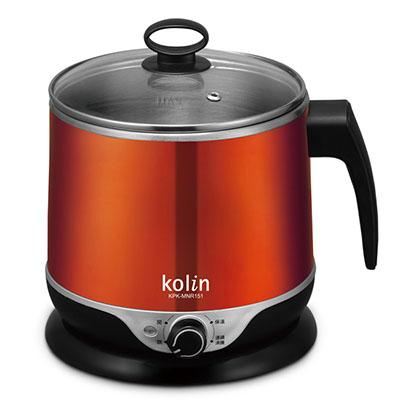 福利品-歌林1-5L隔熱不鏽鋼美食鍋-KPK-MN