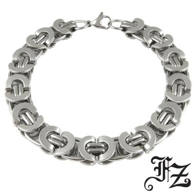 FZ 時尚品味風格白鋼手鍊