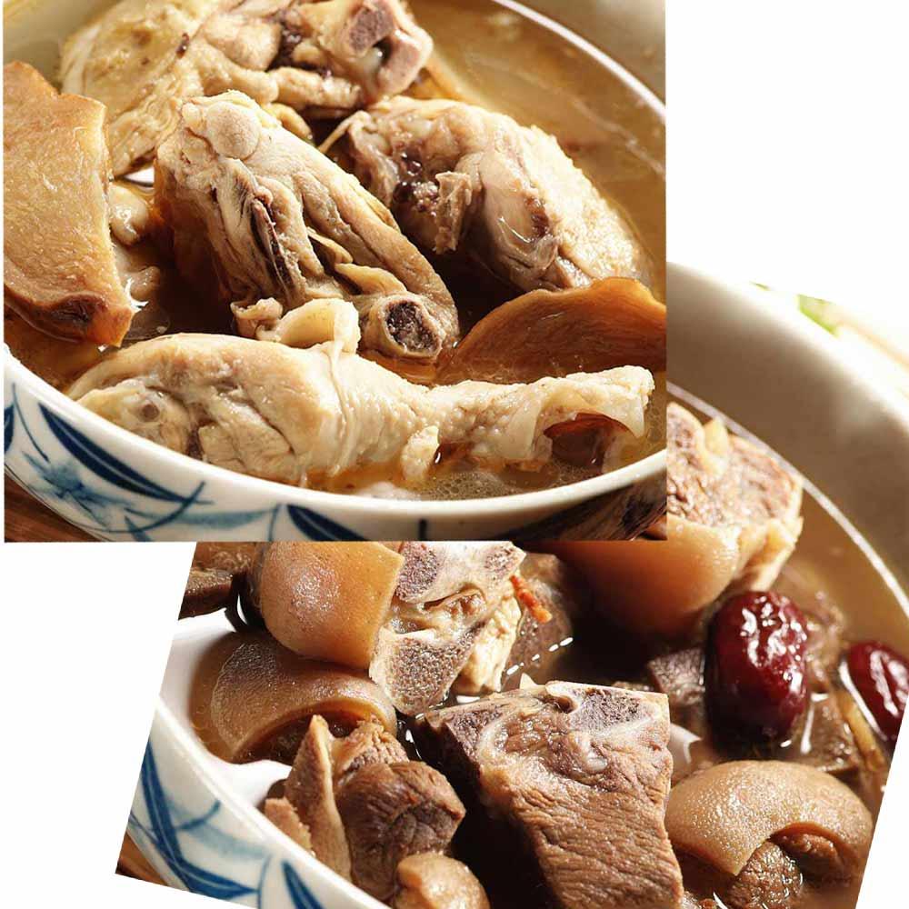 《百年吳家》廟口經典雙拼組合(麻油雞+羊肉爐)