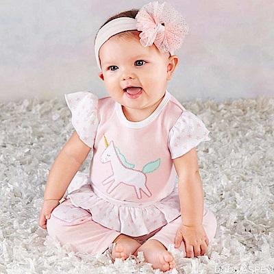 Baby Aspen BAS 變裝派對粉紅獨角獸套裝彌月禮組
