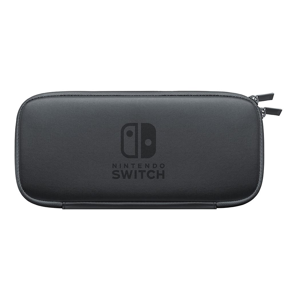 任天堂 Switch 主機收納包(灰)