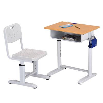 Design 兒童成長學習課桌椅(白)