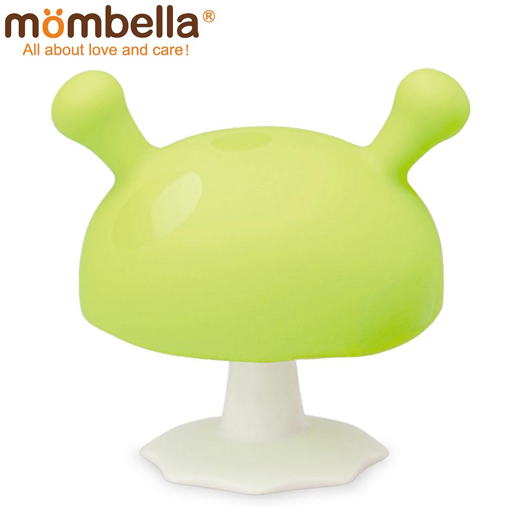 英國 Mombella Q比小蘑菇固齒器 綠色
