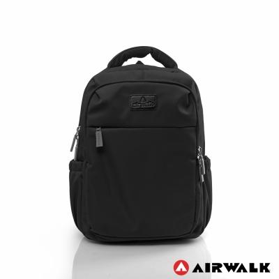 AIRWALK-晴艷彩耀極輕便旅行後背包-黑